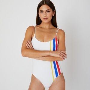 NEW Onia Gabriella one piece swim Varsity swimsuit